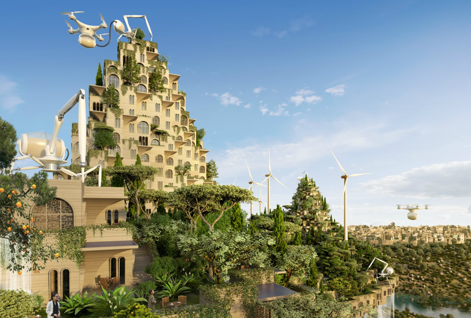 Five Bridges Topped With Urban Farms Could Revitalize War