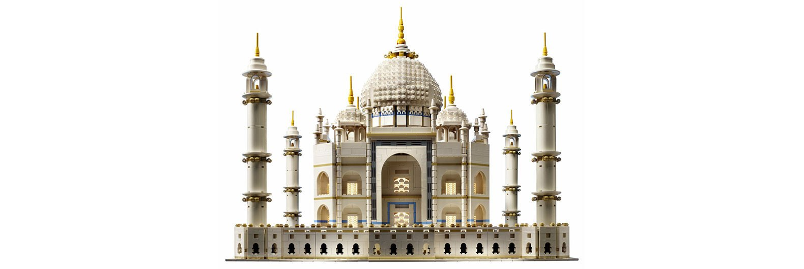 Great LEGO Relaunches Its Beloved Taj Mahal Model With Almost 6,000 Bricks Awesome Ideas