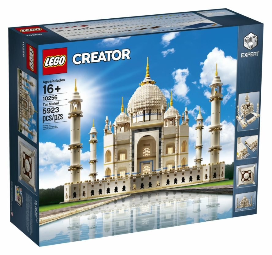 LEGO relaunches its beloved Taj Mahal model with almost
