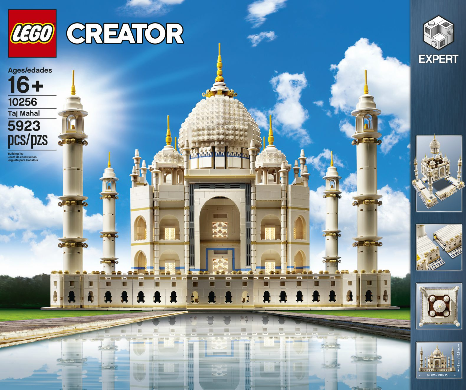 LEGO relaunches its beloved Taj Mahal model with almost ...