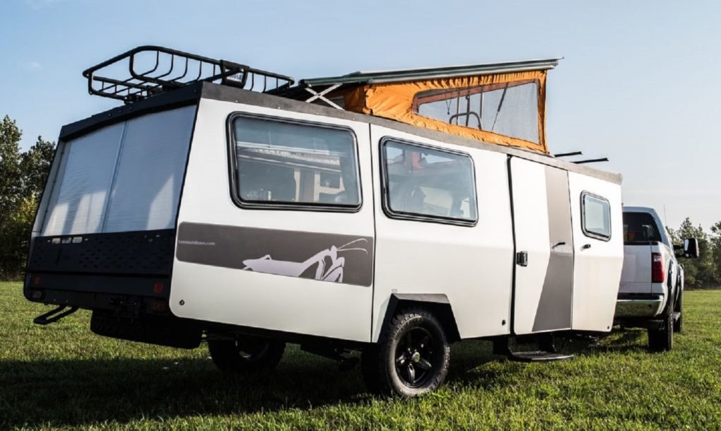 Taxa Unveils Ultra Lightweight Mantis Camper With Pop Up