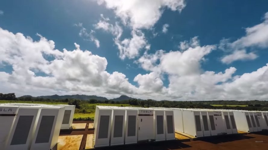 Tesla, Hawaii, Powerpack