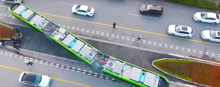 Autonomous Rail Rapid Transit, ART, CRRC Corporation, Zhuzhou, China, trackless, trackless train, trackless trains, railless, railless train, railless trains, train, trains, transportation, public transportation