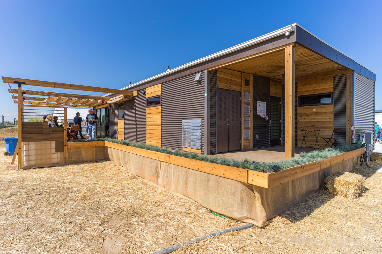 This House Made Of Drought Felled Wood Is A Water Saving