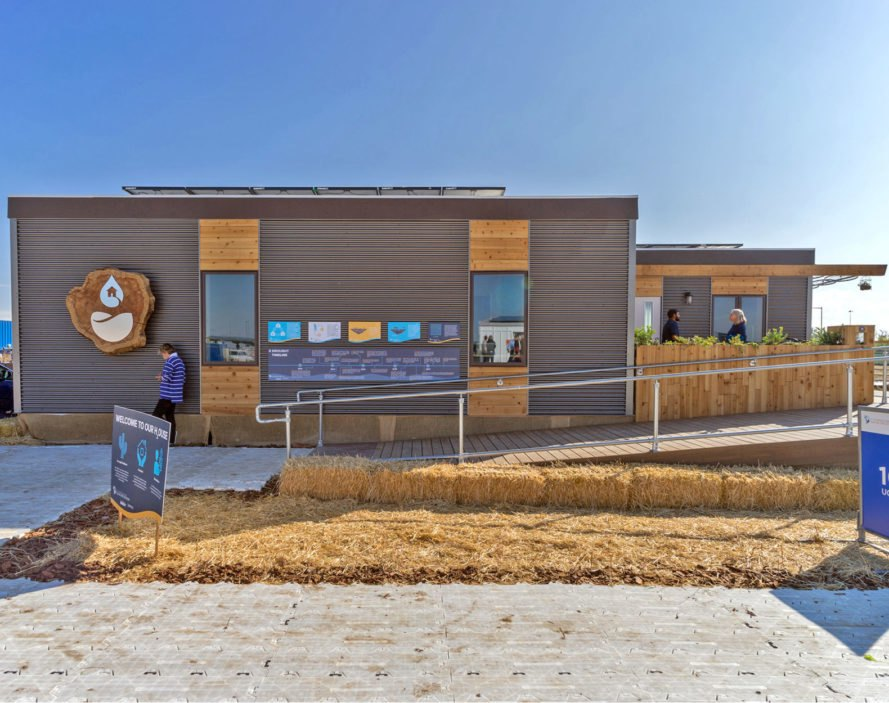 UC Davis H2Ouse, Solar Decathlon, solar decathlon 2017, solar energy, solar events, solar technology, solar energy events, water conservation, eco homes, solar decathlon homes, california drought, ZNE homes, smart homes, bamboo based home construction, greywater reuse systems, LED floor lighting,