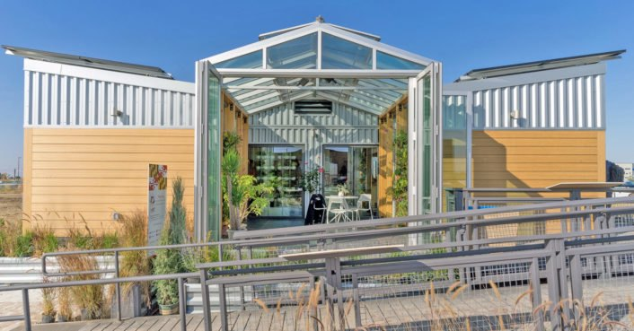 Food-producing reACT home sustainably and intelligently adapts to