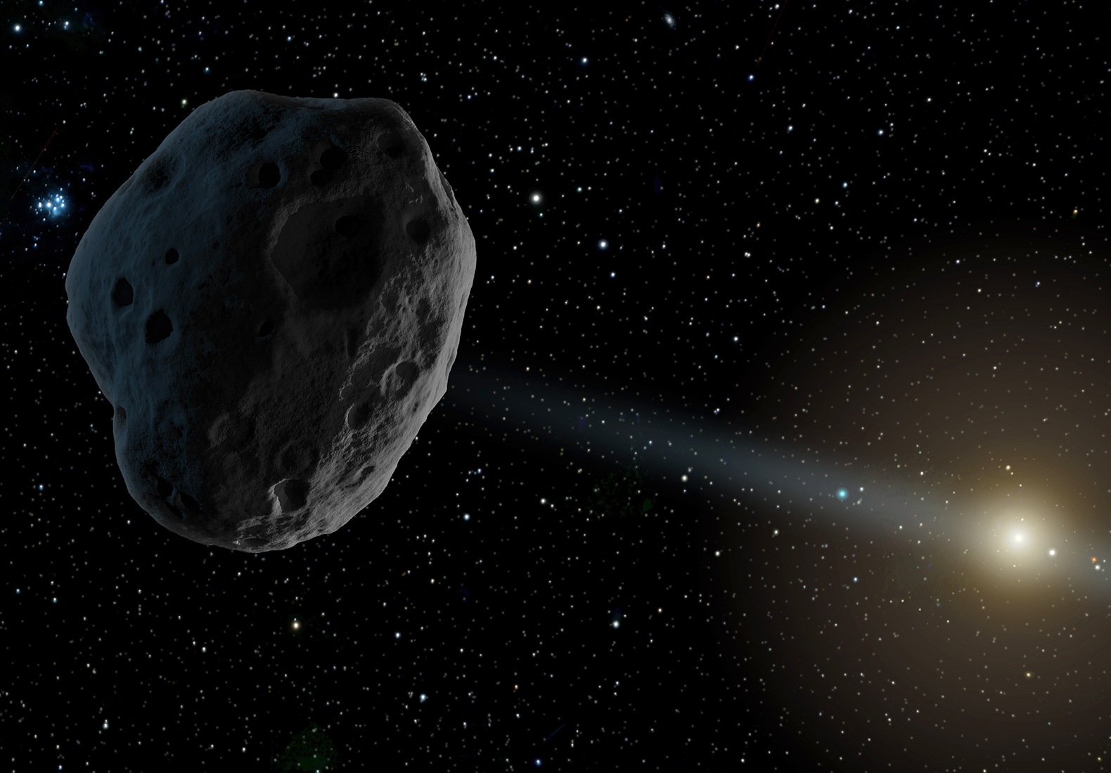 Scientists might have spotted the first object from outside our solar system