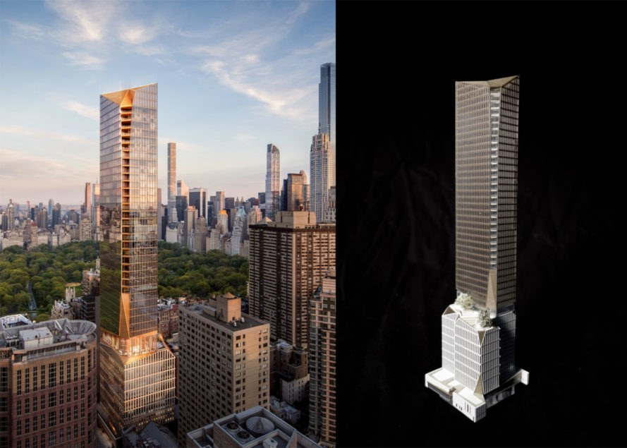 50 West 66 Street by Snøhetta, Snøhetta in Manhattan, Snøhetta skyscraper, 50 West 66 Street Manhattan, 50 West 66 Street skyscraper, 50 West 66 Street mixed use, chamfered skyscraper
