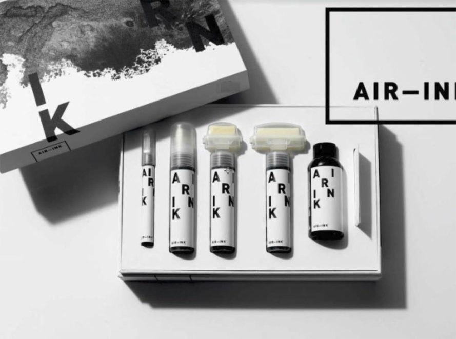KAALINK, Air-Ink, Graviky Labs, Anirudh Sharma, pollution art, pollution ink, air pollution, air quality, air pollution ink, air pollution art, air ink art, MIT Media Labs, air pollution into art, air pollution turned into ink, absorbing air pollution, filtering air pollution