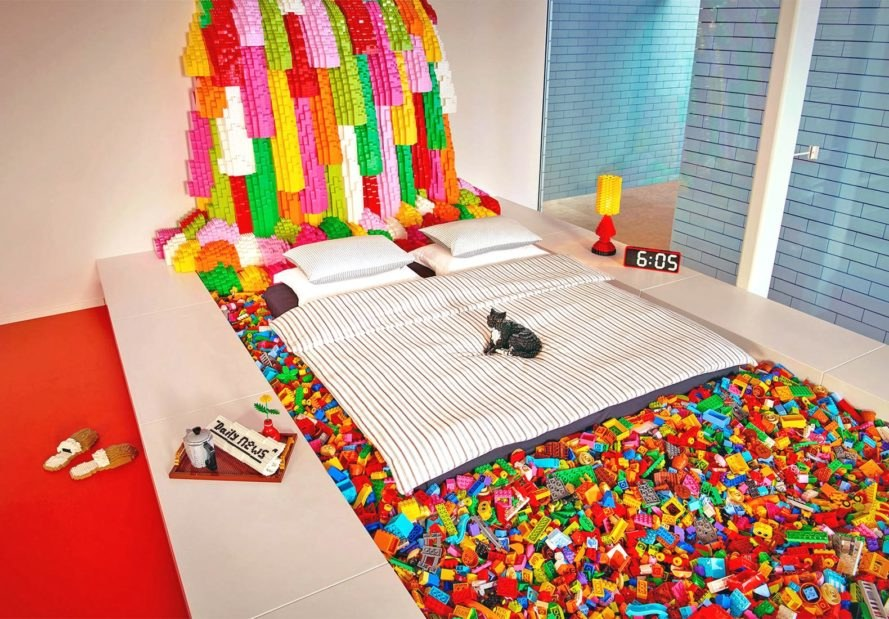 Airbnb, LEGO Home, Denmark, free, tourism, News, green building, innovation, design,