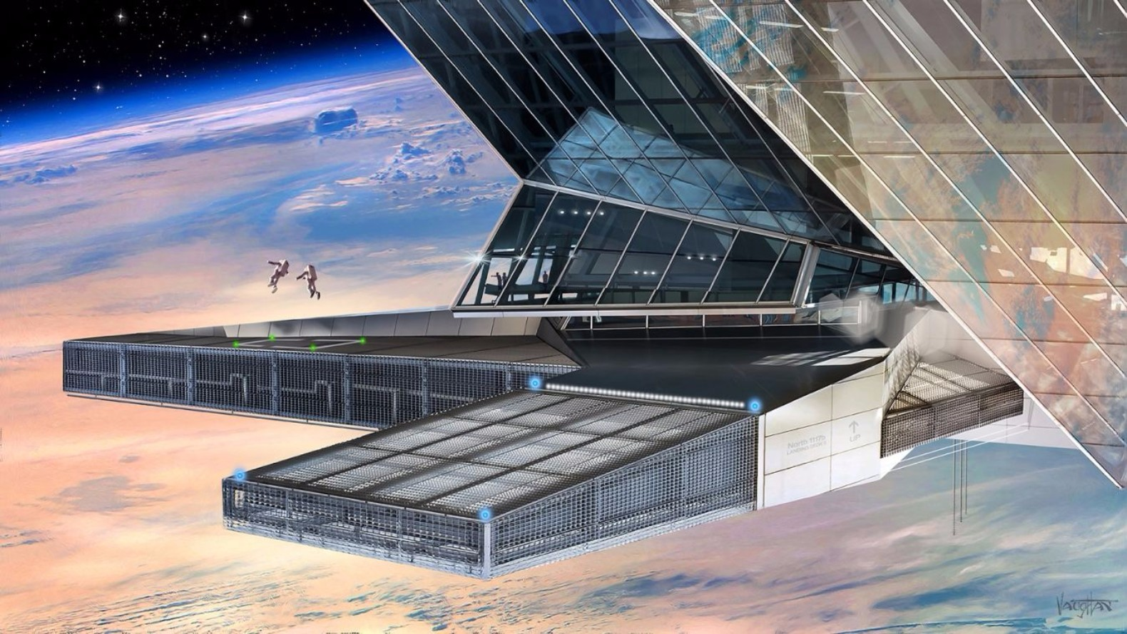 International space station inhabitat green design innovation architecture green building - Homes built from recycled materials nasas outer space challenge ...