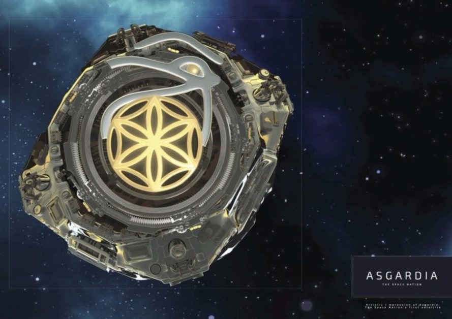 Asgardia, space nation, outer space, Asgardia satellite