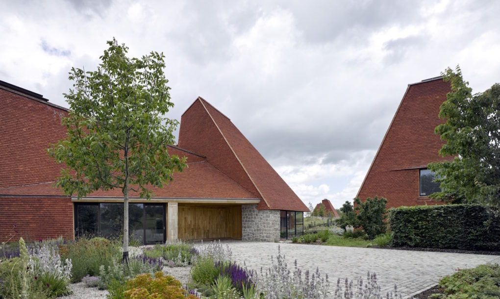 Carbon neutral caring wood wins riba award for best new for Carbon neutral home designs