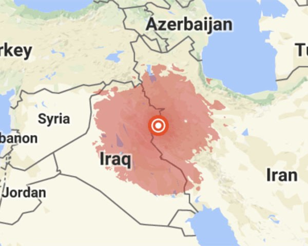 Iraq, Iran, earthquake, earthquakes, quake, quakes, tremor, tremors, natural disaster, natural disasters, destruction, 7.3 magnitude, 7.3 earthquake