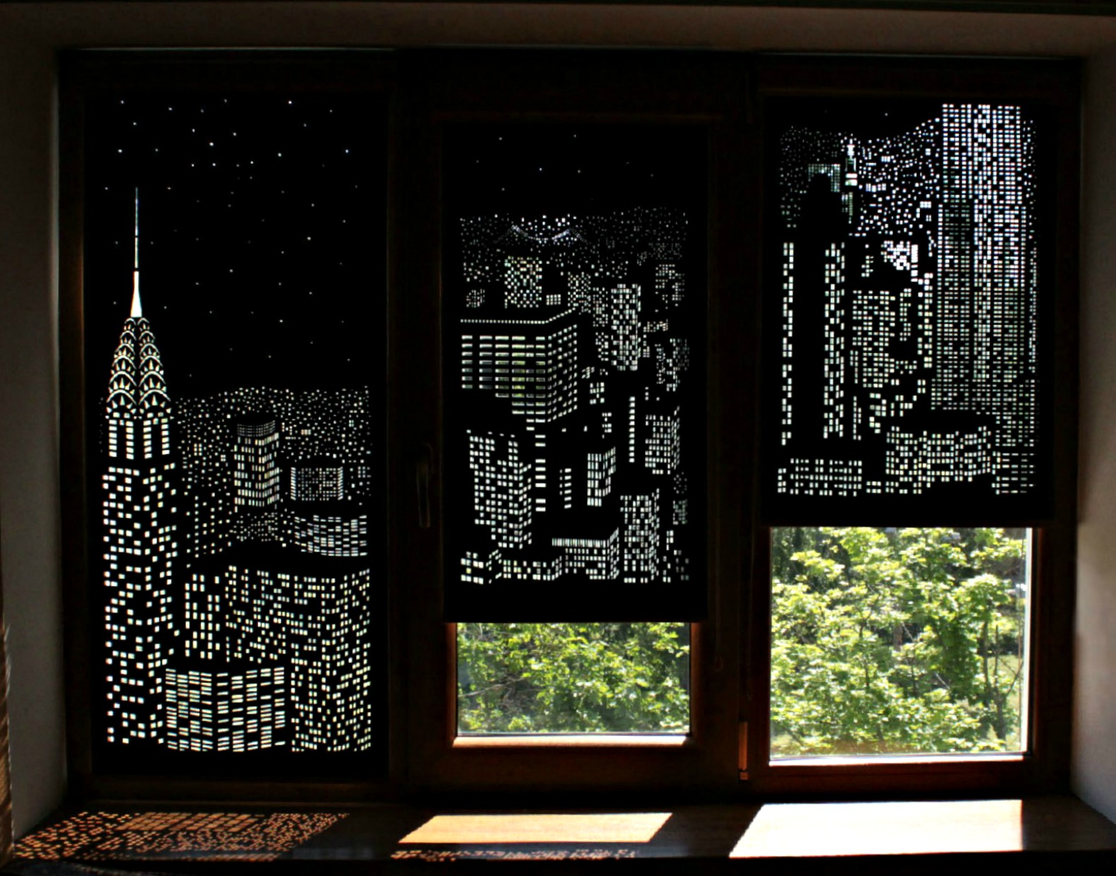 These Clever Curtains Transform Your Window Into A