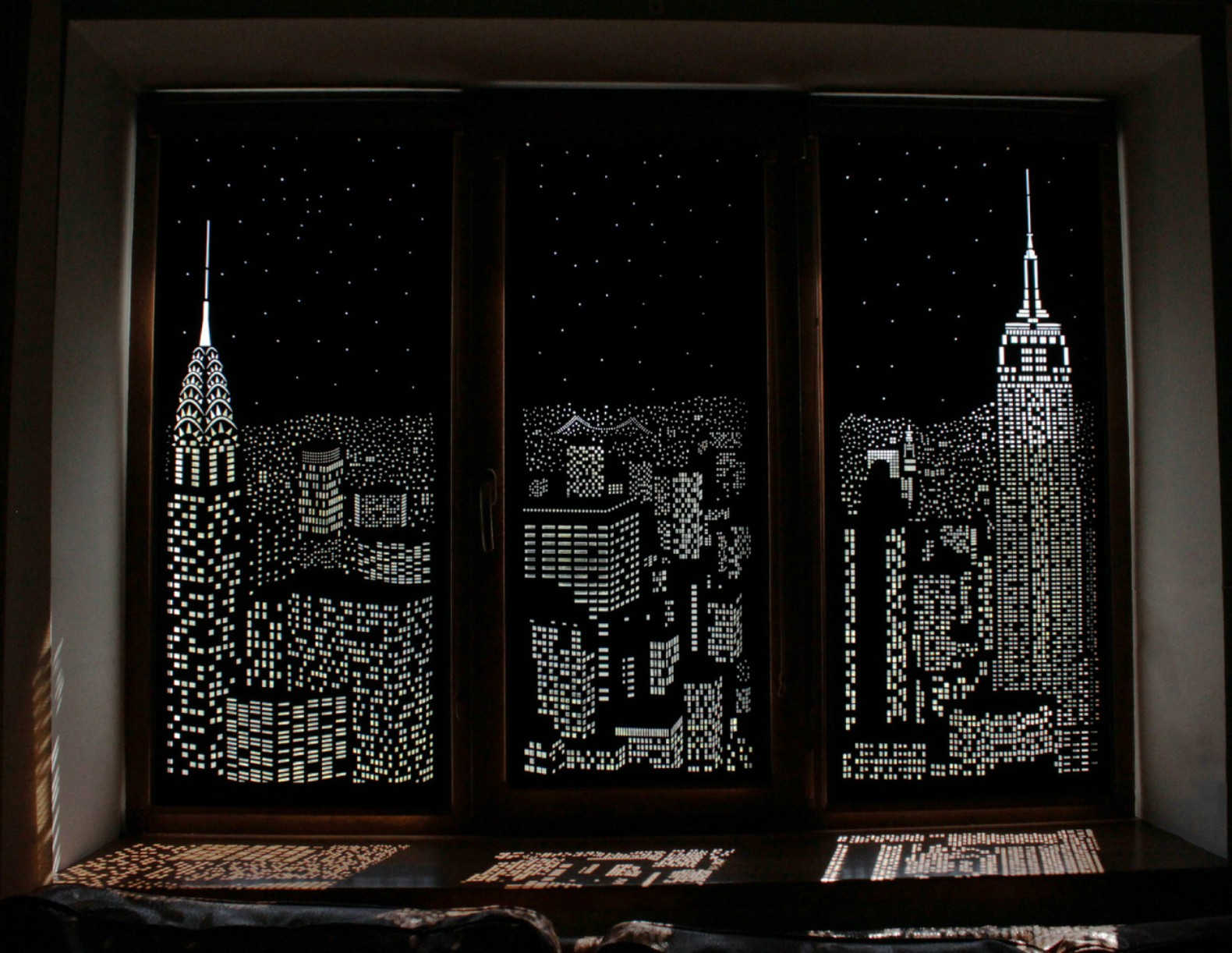 Holeroll Cityscape Curtains Interior Design Insulating That Shine Shimmery