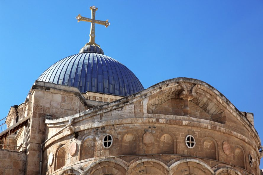 Church of the Holy Sepulcher, Jerusalem, Jesus, religion