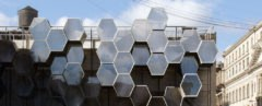 Homed by Framlab, Homed homeless housing, homeless housing parasitic architecture, parasitic architecture, homeless housing designs, homeless housing proposals, 3D printing homeless housing