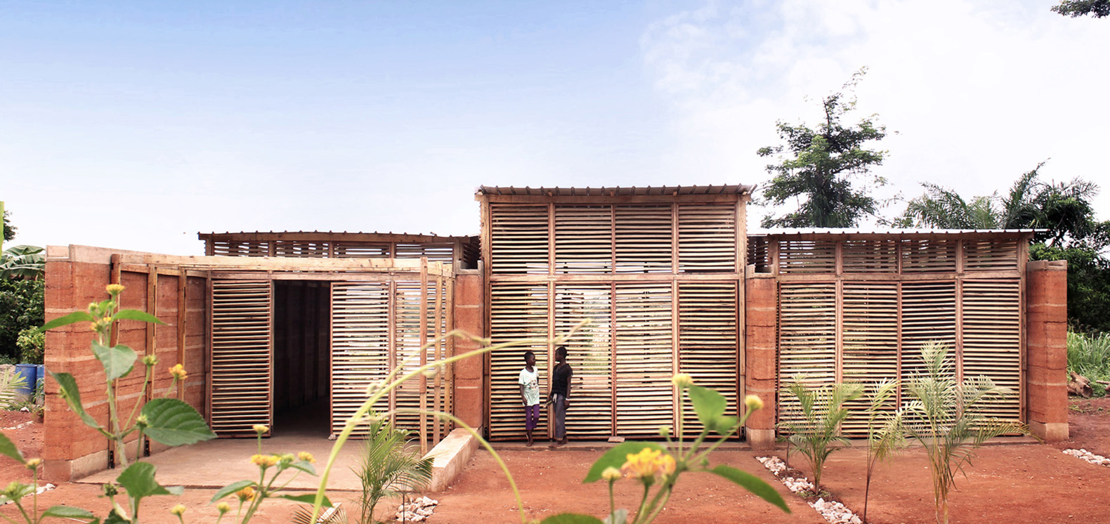 This Rammed Earth School In Ghana School Cost Only $13,976 To Build
