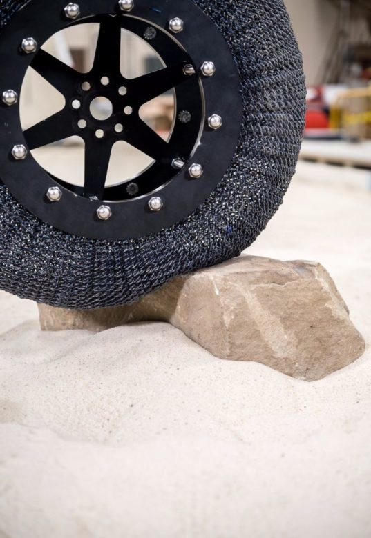 Nasa S New Airless Titanium Tires Are Almost Indestructible