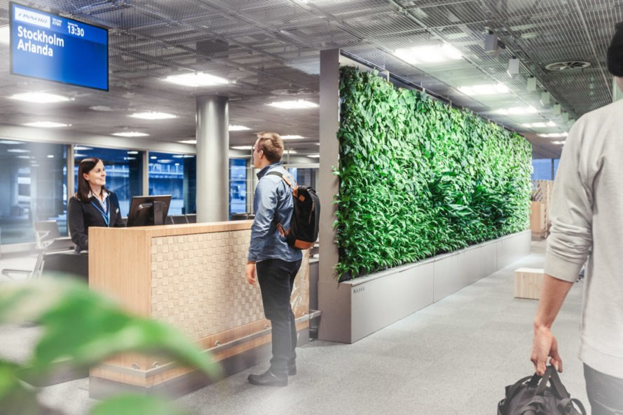 Naava, Finland, Naava green wall, green wall, green walls, vertical garden, vertical gardens, living wall, living walls, smart green wall, smart, indoor air, indoor health, air, plants, nature, greenery, indoors, inside, design, health
