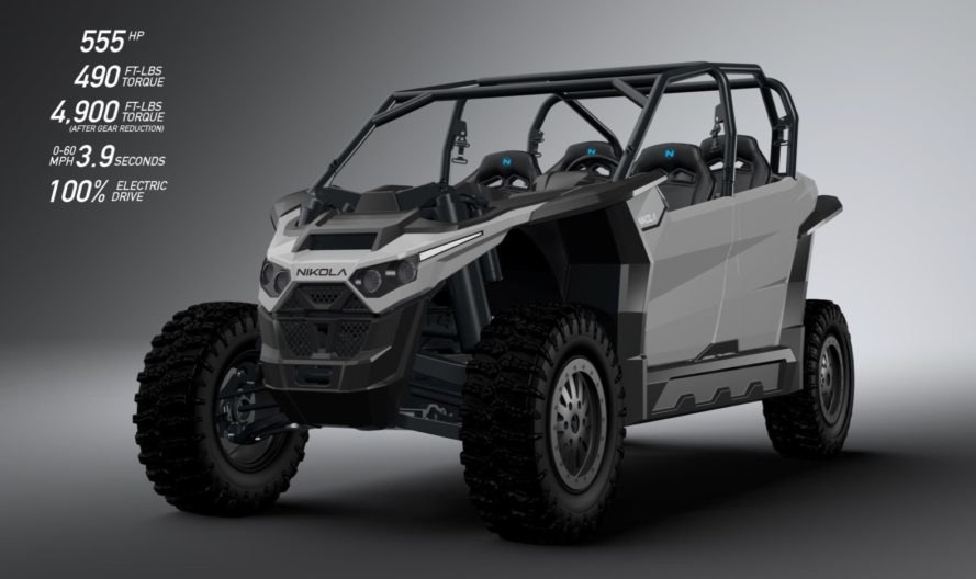 Nikola Motor, Nikola Zero, electric vehicle, ev, green car, green transportation, electric motor, electric utv, lithium-ion battery, battery pack, zero emissions, electric off-roading,