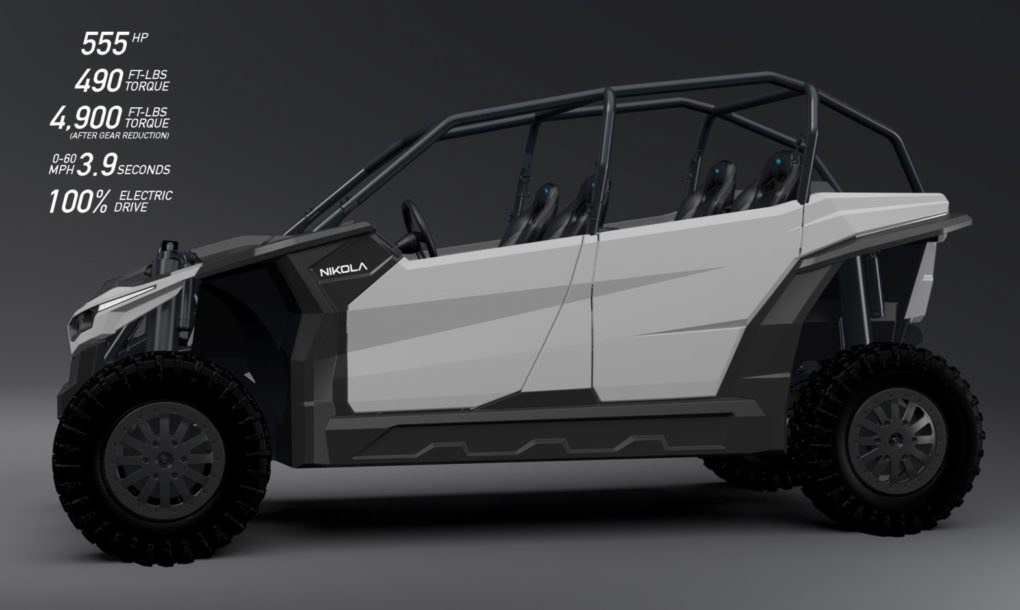 All electric utv from nikola motor is a beast with more for Nikola motors stock price