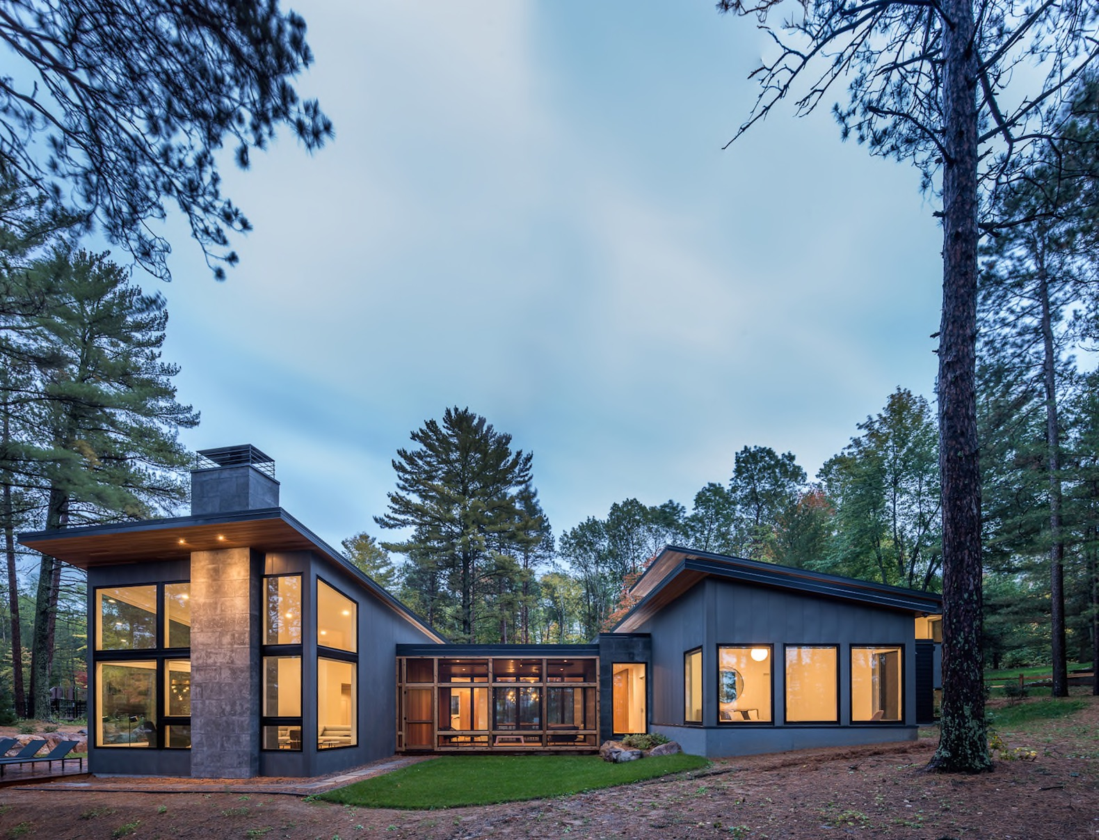Stunning home fuses modern Scandinavian design with the Minnesotan outdoors
