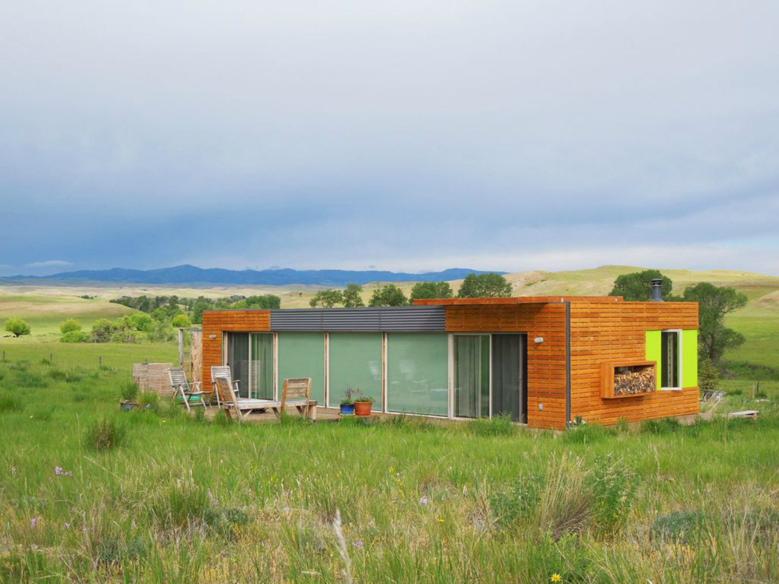 Stunning shipping container home can be yours for $125k