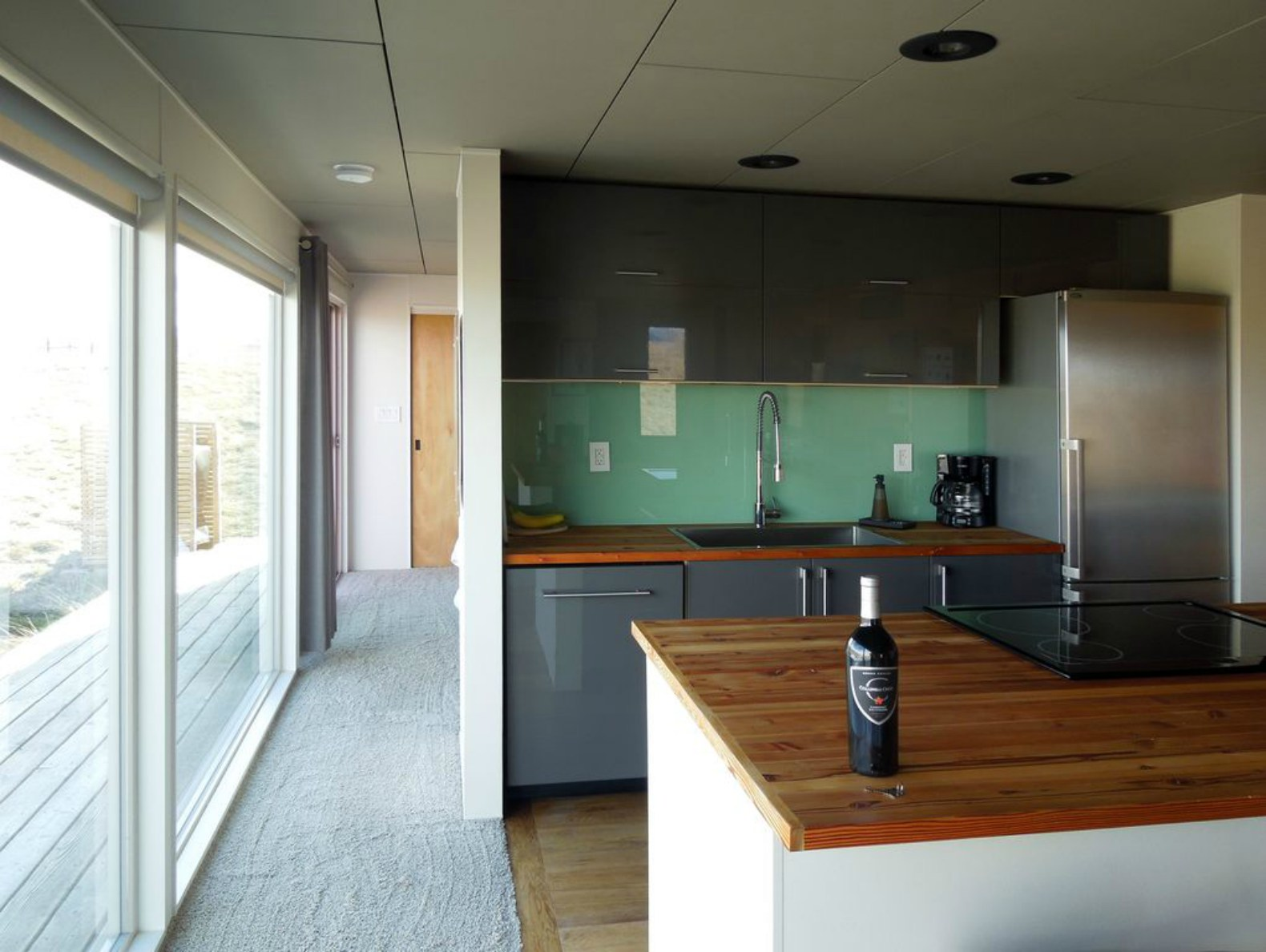 Stunning shipping container home with all-glass wall can be yours ...