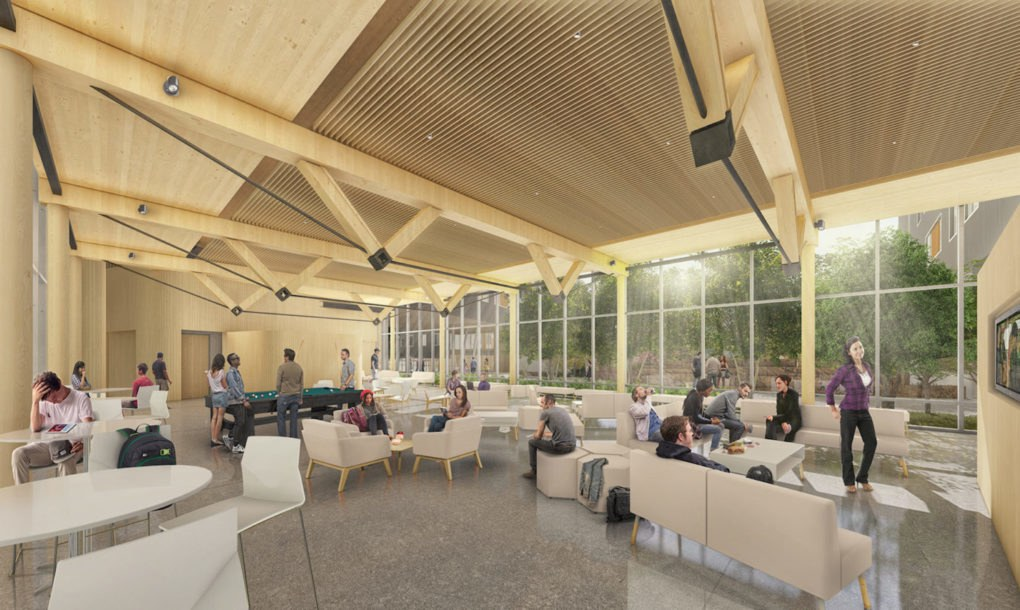 Nation S First Large Scale Mass Timber Residence Hall Breaks Ground In Arkansas Inhabitat