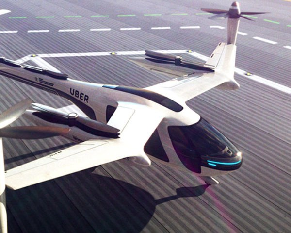 Uber, Uber Elevate, flying taxis