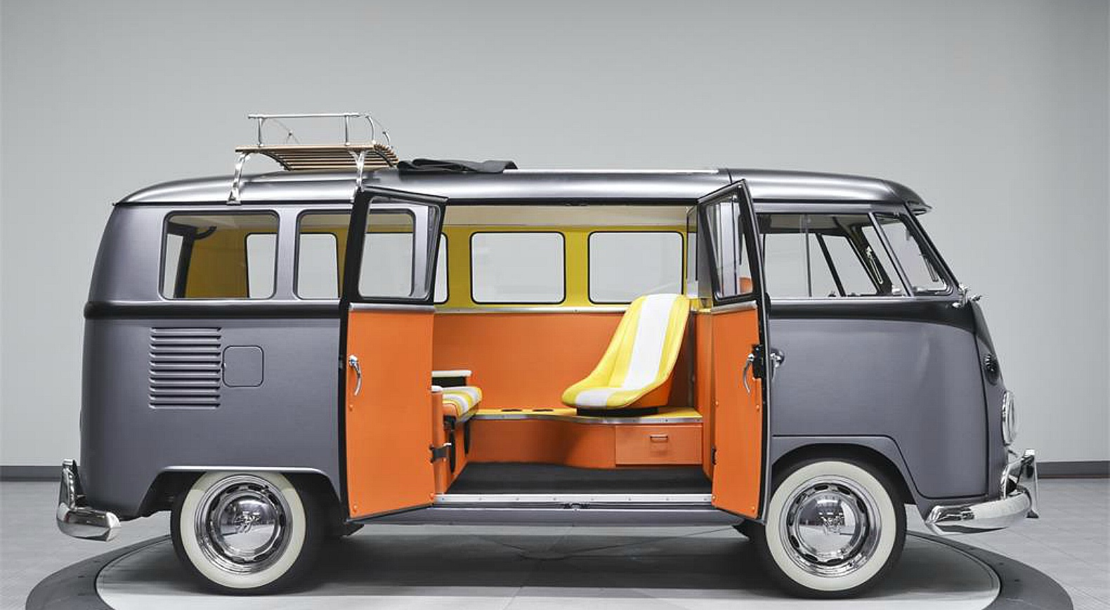 1967 Volkswagen Camper Transformed Into Back To The Future Time Machine