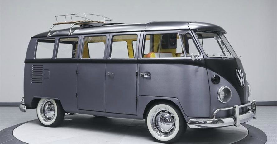Back to the Future VW, Velocity Motorcars, renovated vw campers, renovated camper van, back to the future van, custom vw bus, 1967 custom VW Bus, VW Campers for sale, car design, vintage campers, camper renovation, custom made vw campers,