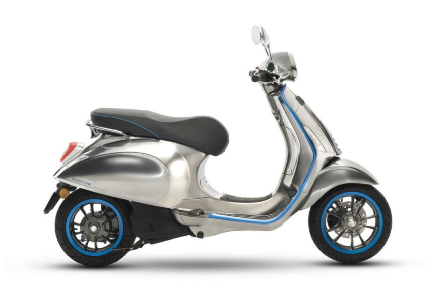 Vespa, Piaggio, electric, scooter, green transportation, sustainable travel, eco-friendly, environment, innovation, charging,