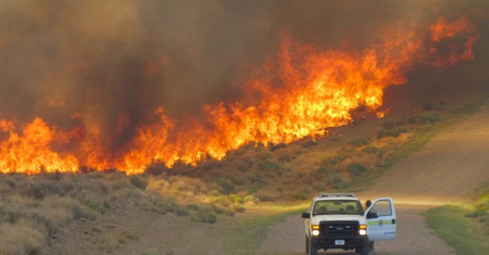 US govt scientist denied approval to discuss link between climate change and severe fires