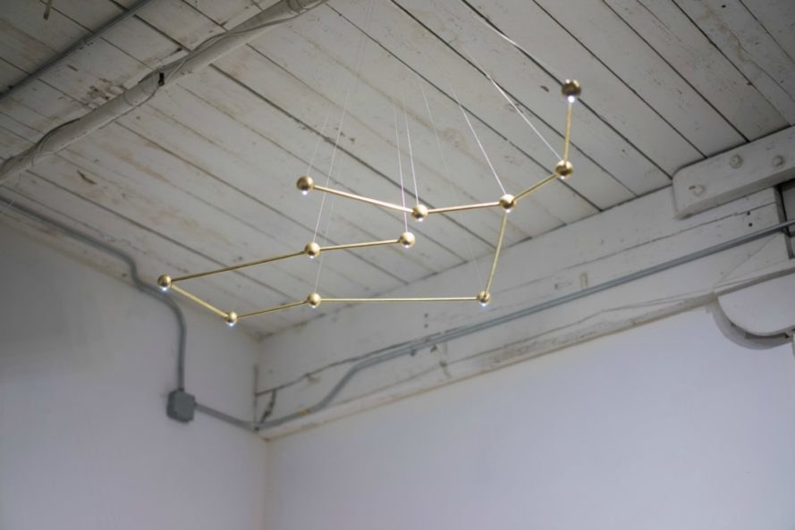 Constellation, Richard Clarkston Studio, zodiac lamps, lED lighting, LED lamps, LED bulbs, led lighting, led interior design, green lighting, led-lit lamps, led ceiling lamps, sustainable lighting, long lasting led bulbs, interior design, lamp design, lighting design, green lighting