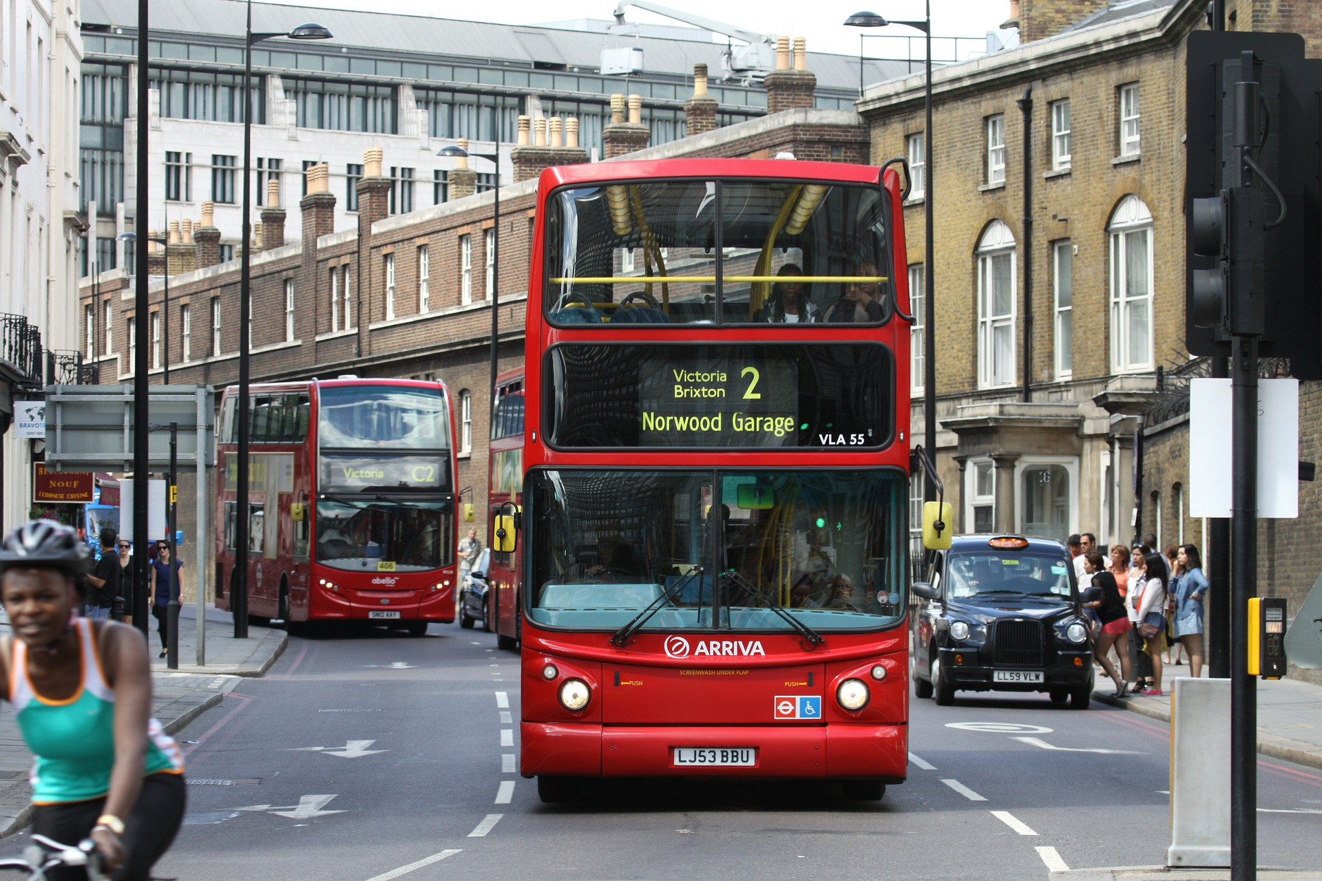 London's iconic red buses powered by leftover COFFEE