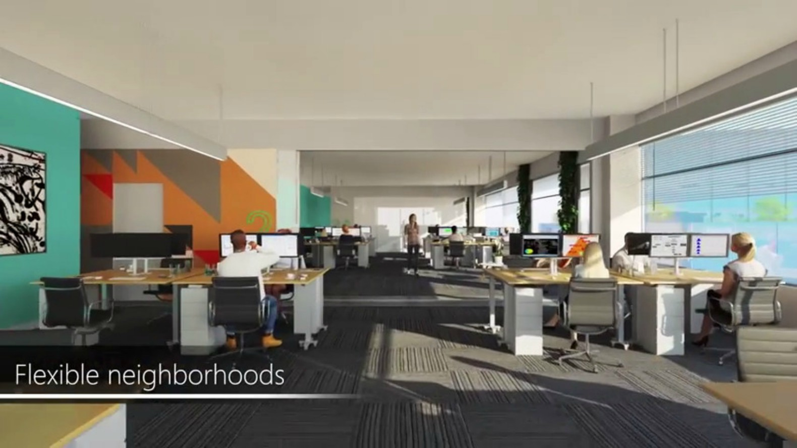 Microsoft Office In Redmond. Microsoft Building 83 Offices - Redmond ...