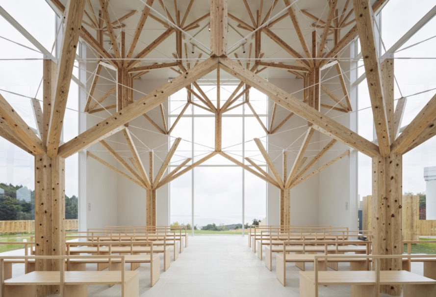 Agri Chapel by Yu Momoeda Architecture Office