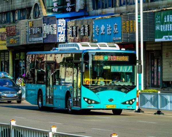 BYD, BYD Company, bus, electric bus, public transportation, city transportation