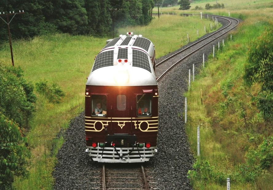 The World S First 100 Solar Powered Train Launches In