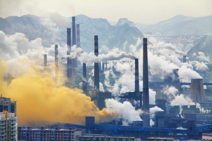 China, Benxi Steel Industries, steel, heavy industry, pollution, industry