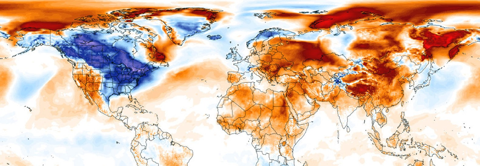 This Map Shows How Uninformed Trumps Global Warming Tweet Is - Climate world map