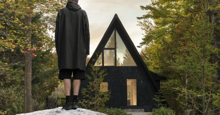 Renovated 1960s A-frame cabin proves that clever design triumphs