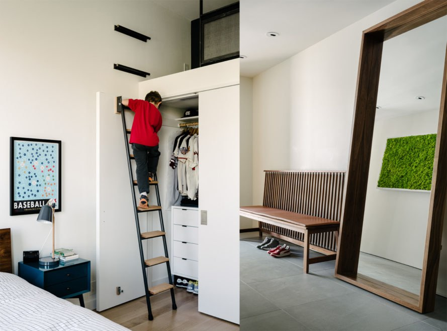 Fitty Wun by Feldman Architecture, Fitty Wun house, Fitty Wun in San Francisco, Feldman Architecture residential projects, luxury townhouse San Francisco, luxury townhouse California, green-roofed townhouses, panopticon architecture