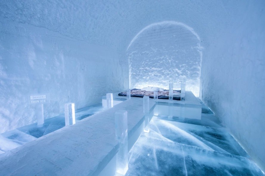ice hotel, ICEHOTEL 2018, ICE HOTEL art suites, ICE HOTEL price, Torne River ice, ice architecture, snow architecture, temporary ice architecture, ice art exhibition, eco hotel Sweden