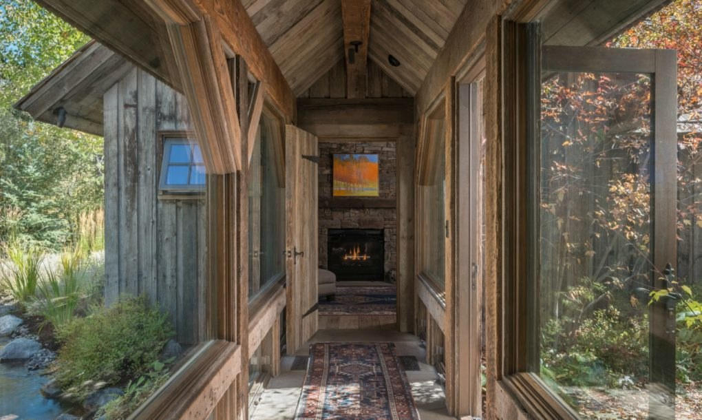 Architects create exquisite home addition out of reclaimed for Local reclaimed wood
