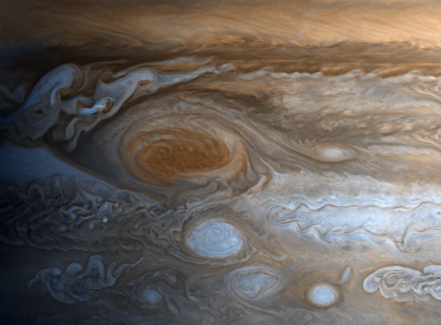 Voyager 1, Jupiter, NASA, solar system, outer space, Jupiter's red spot, Jupiter's storm, planet photographs