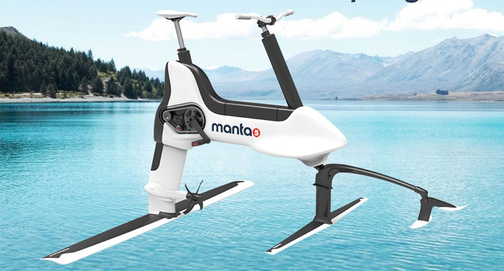 Manta5 S New Electric Water Bike Lets You Cycle On Rivers